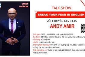 "Talk Show: ""Break Your Fear Of English"